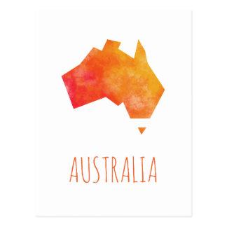 De Kaart van Australië