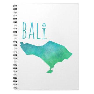 De Kaart van Bali Notitieboek
