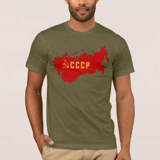 De Kaart van CCCP Sovjetunie T Shirt