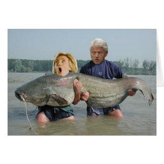 De Kaart van Clintons van Fishin
