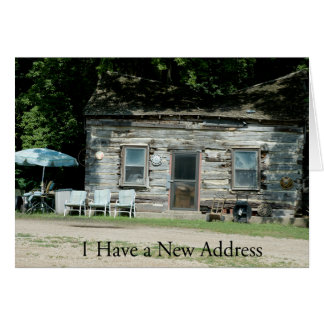 De Kaart van de adreswijziging: Blokhuis
