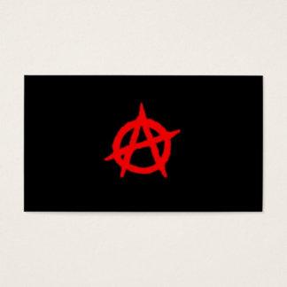 De Kaart van de anarchie Visitekaartjes