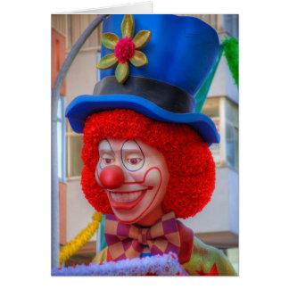De Kaart van de clown