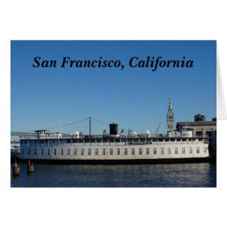 De Kaart van de Cruise van San Francisco