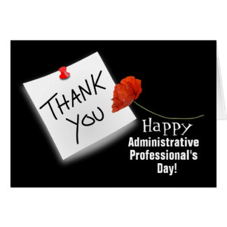De Kaart van de Dag van de administratieve Beroeps