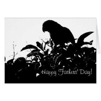 De Kaart van de Dag van de wilde Vaders van de