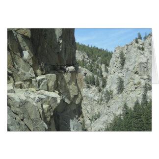 De Kaart van de Foto van de Berg van Colorado van