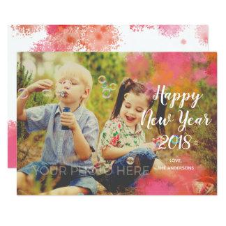 De Kaart van de Foto van het Nieuwjaar van de