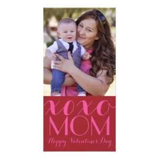 De Kaart van de Foto van Valentijn van het Mamma