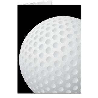 De Kaart van de golfbal