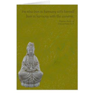 De Kaart van de Harmonie van Yin van Guan