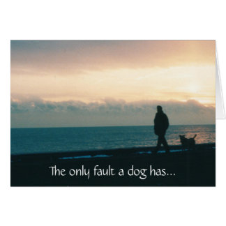 De Kaart van de Hond van de sympathie