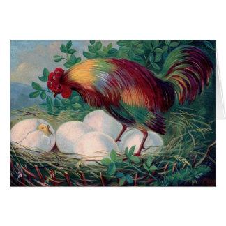De Kaart van de Kip van Pasen