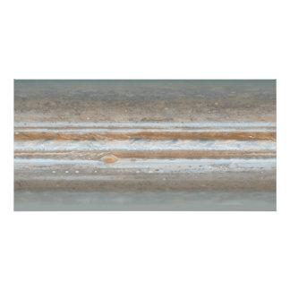 De kaart van de kleur van Jupiter Foto Print