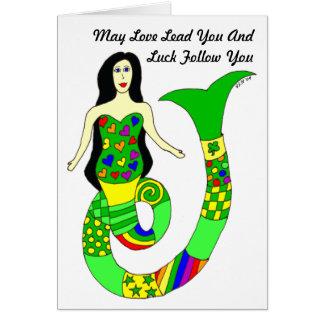 De Kaart van de liefde en St. Patrick van de