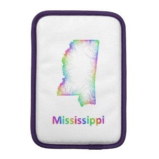 De kaart van de Mississippi van de regenboog