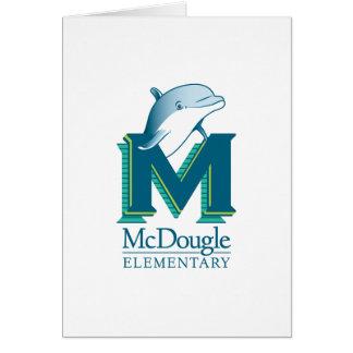 De Kaart van de Nota van de Dolfijn van McDougle