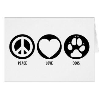 De Kaart van de Nota van de Honden van de Liefde