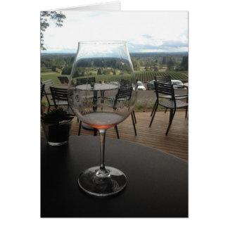 De Kaart van de Nota van de wijnmakerij