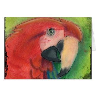 De Kaart van de papegaai