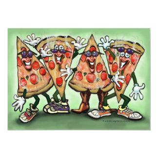 De Kaart van de Partij van de pizza