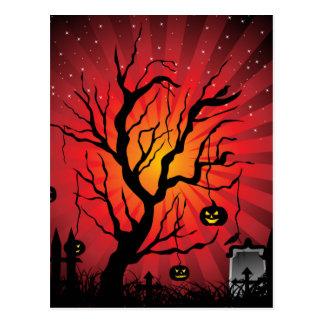De Kaart van de Partij van Halloween Briefkaart