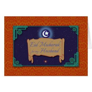 De Kaart van de Ramadan voor Echtgenoot, Eid