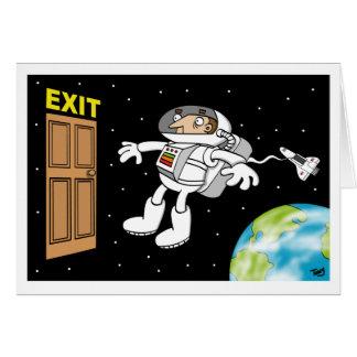 De Kaart van de ruimtevaarder
