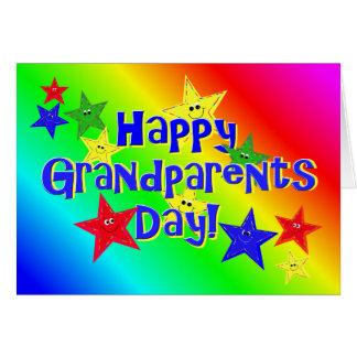 De Kaart van de Sterren van de Dag van grootouders