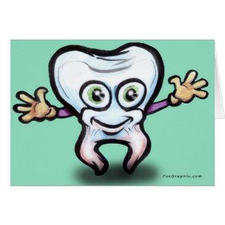 De Kaart van de tand