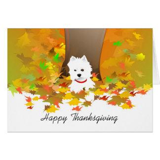 De Kaart van de Thanksgiving - Gelukkige