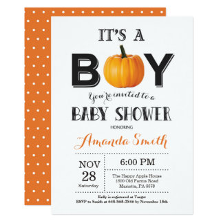 De Kaart van de Uitnodiging van het Baby shower