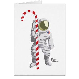 De Kaart van de Vakantie van de astronaut