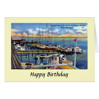 De Kaart van de verjaardag - Biloxi, de