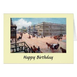 De Kaart van de verjaardag - Cape Town,