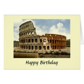 De Kaart van de verjaardag - Colosseum, Rome