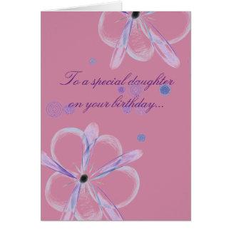 De Kaart van de Verjaardag van de dochter met het