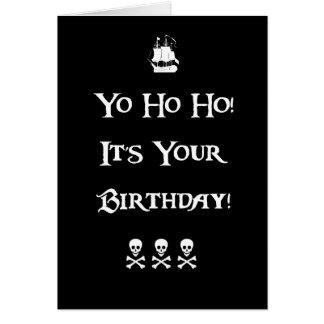 De Kaart van de Verjaardag van de Humor van de