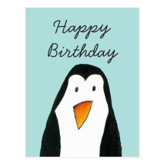 De Kaart van de Verjaardag van de pinguïn