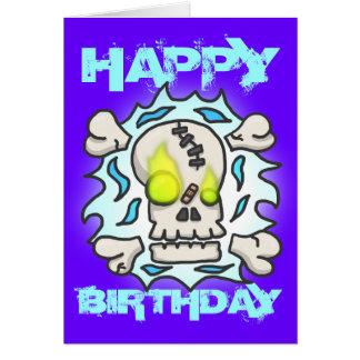 De Kaart van de Verjaardag van de Vlam van de