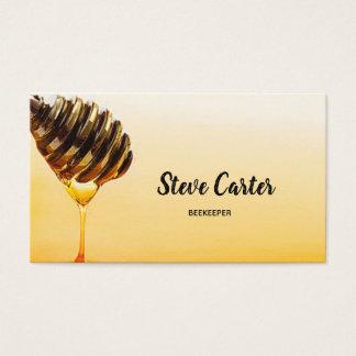 De Kaart van de Verkoper van de Honing van de Visitekaartjes