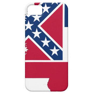 De Kaart van de vlag van de Mississippi Barely There iPhone 5 Hoesje