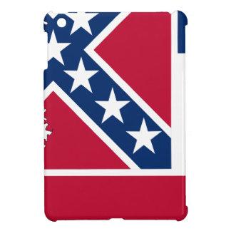 De Kaart van de vlag van de Mississippi iPad Mini Hoesjes