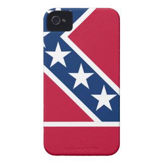 De Kaart van de vlag van de Mississippi iPhone 4 Hoesje