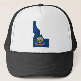 De Kaart van de Vlag van Idaho Trucker Pet