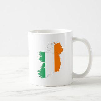 De Kaart van de Vlag van Ierland Koffiemok