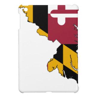 De Kaart van de vlag van Maryland iPad Mini Cases
