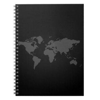 De Kaart van de wereld Notitieboek