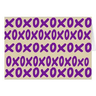 """de Kaart van de """"xoxo"""" Nota"""