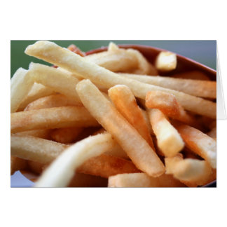 De Kaart van frieten